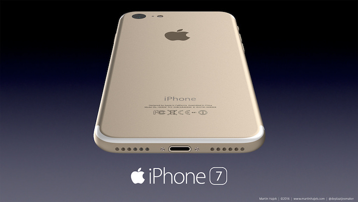 Iphone7 concept image