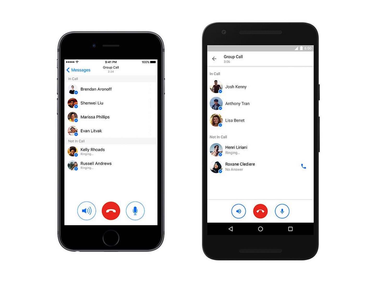 Facebook Messenger Group Talk