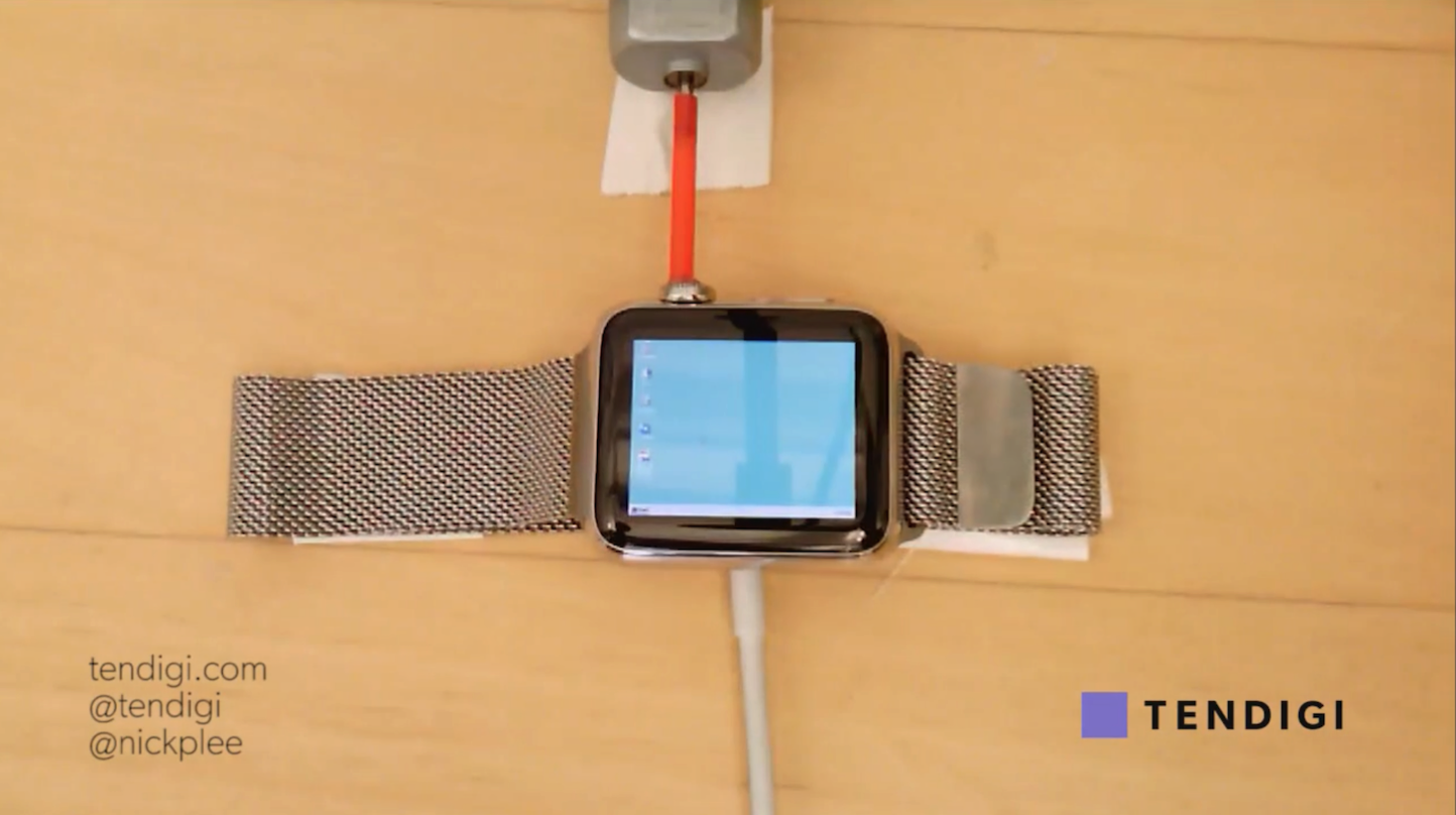 Installing Windows95 on Apple Watch