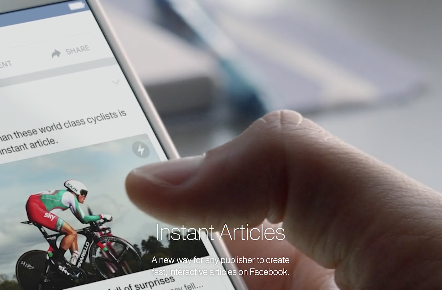 Instant Articles Registeration