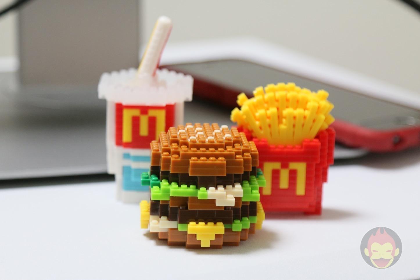 MacDonalds Mega Big Mac Nanoblock
