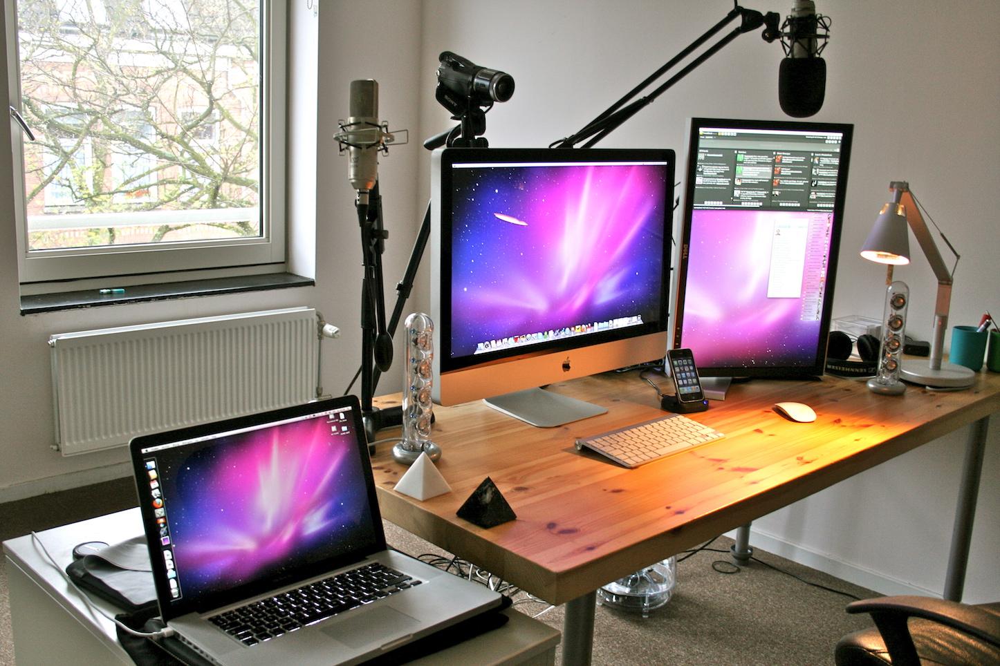 Imac 27 inch office