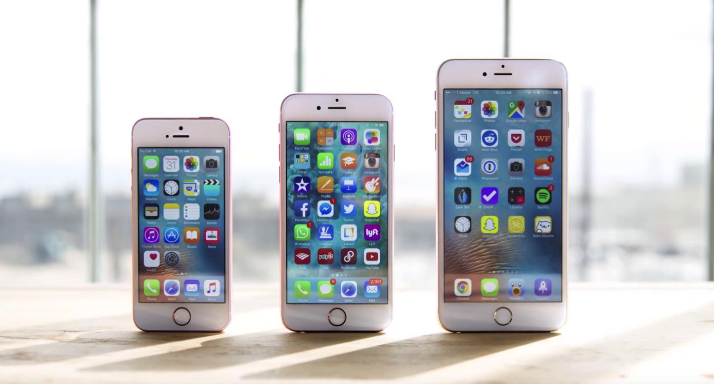 iPhone 6s/6s Plus/SEの強度比較実験