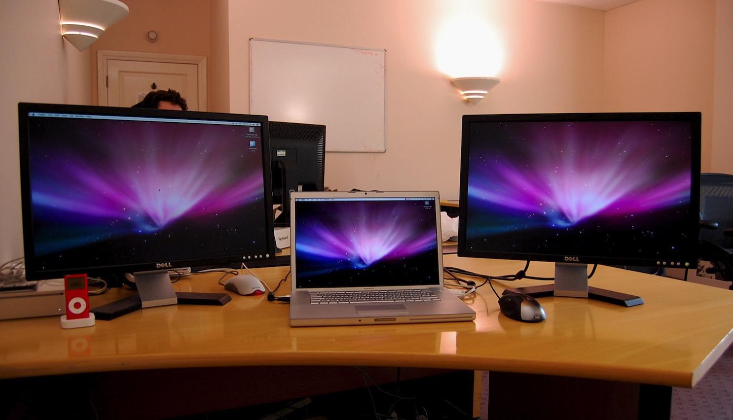 Macbook and displays