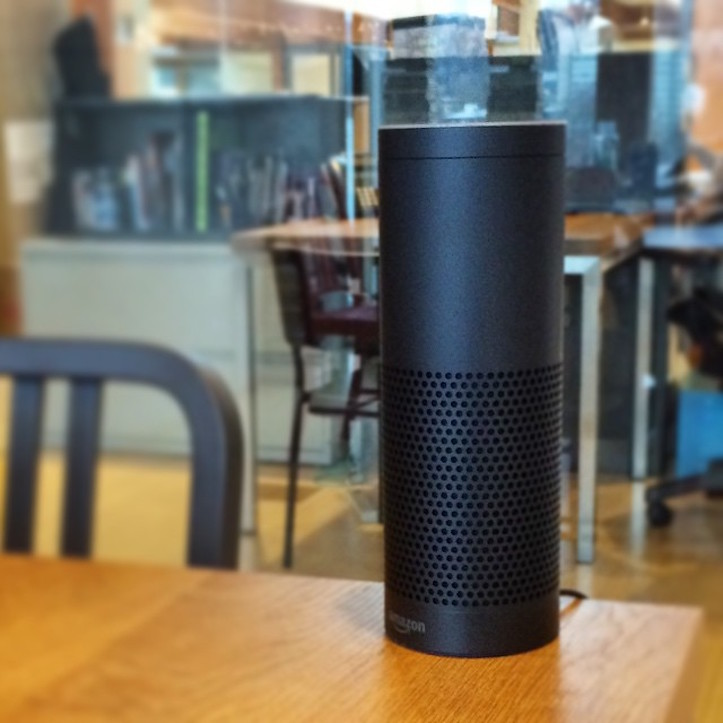 Amazon Echo in Living room