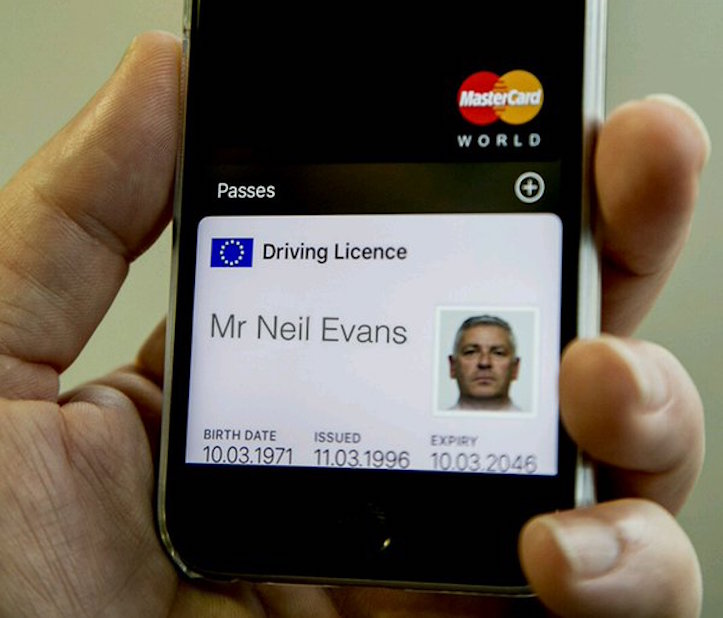 DriversLicsence on Apple Wallet