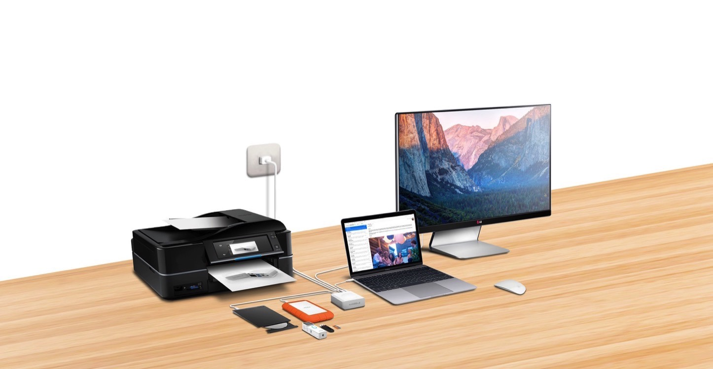 Marble Charging Dock for MacBook