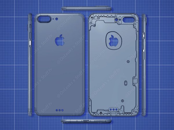 New Rendering Of iPhone7Plus