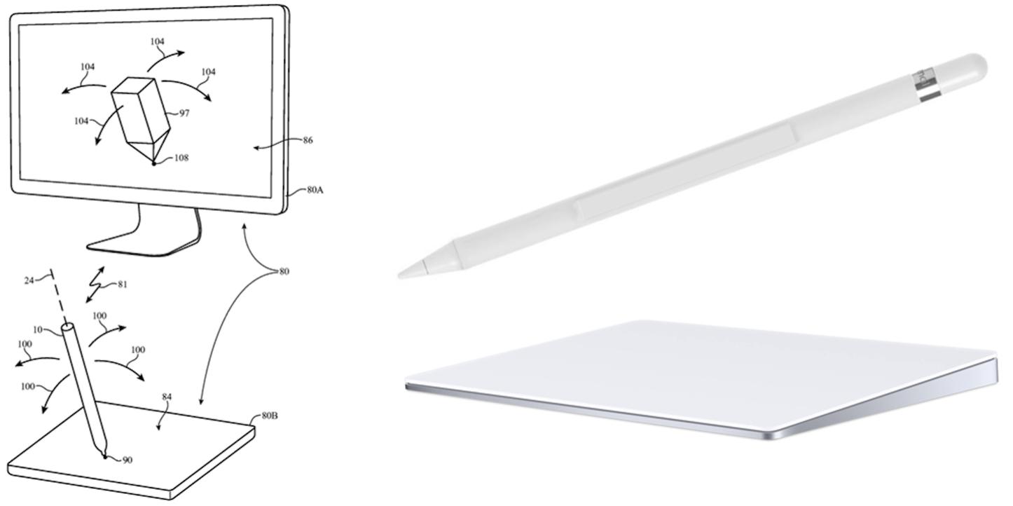 Apple pencil mac