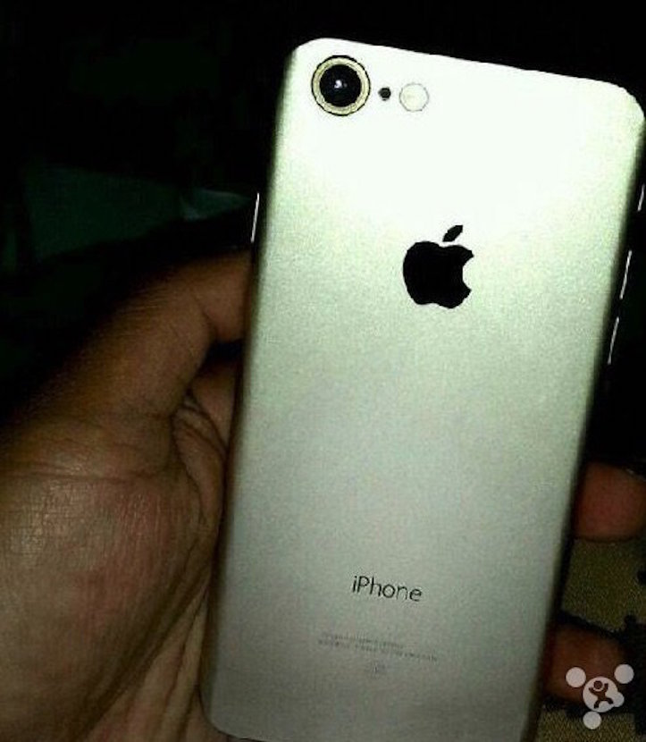 Iphone 7 leak with new camera
