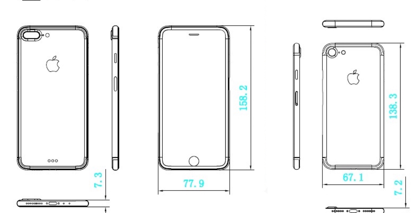 Iphone 7 plus schematics