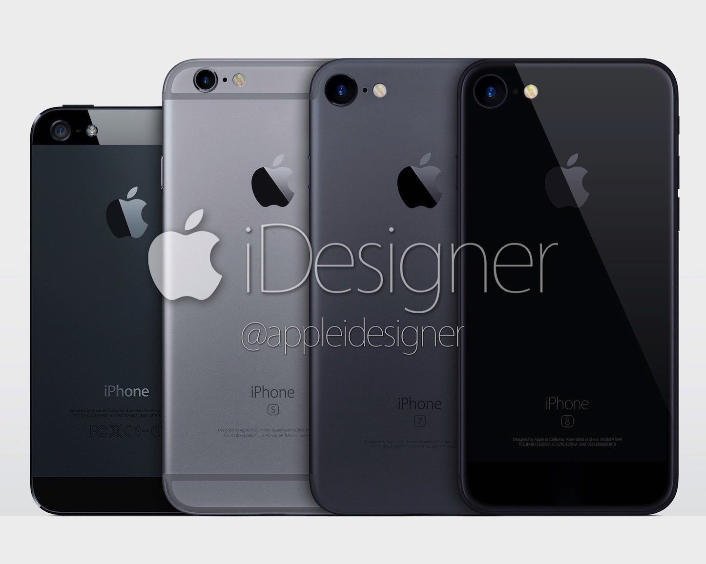 AppleDesigner New iPhone7 Color