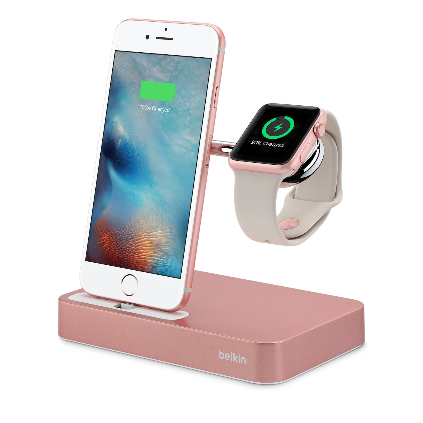 Belkin Valet Charge Dock for Apple Watch iPhone 2