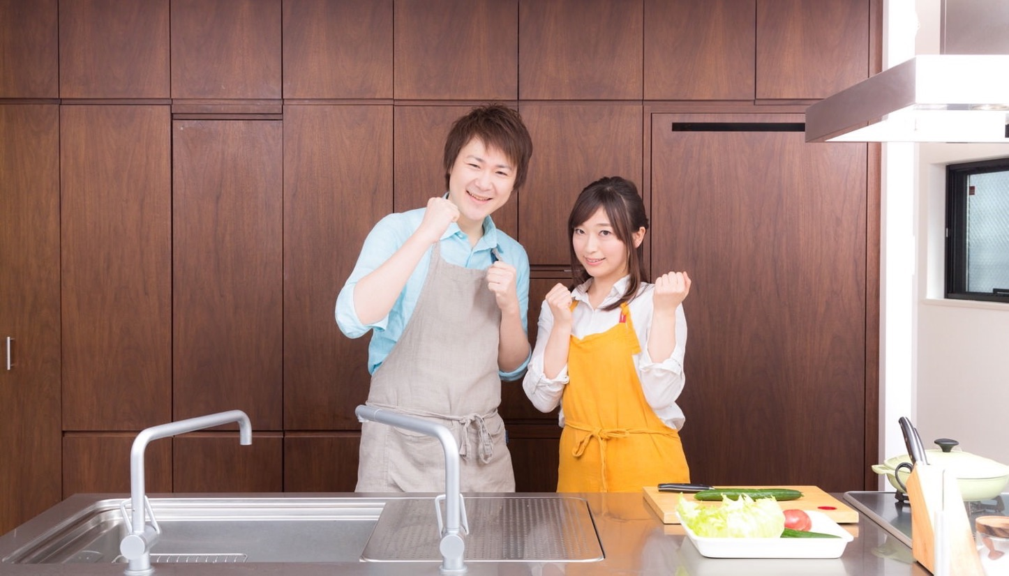 Igarashi Couple Cooking Free Photos