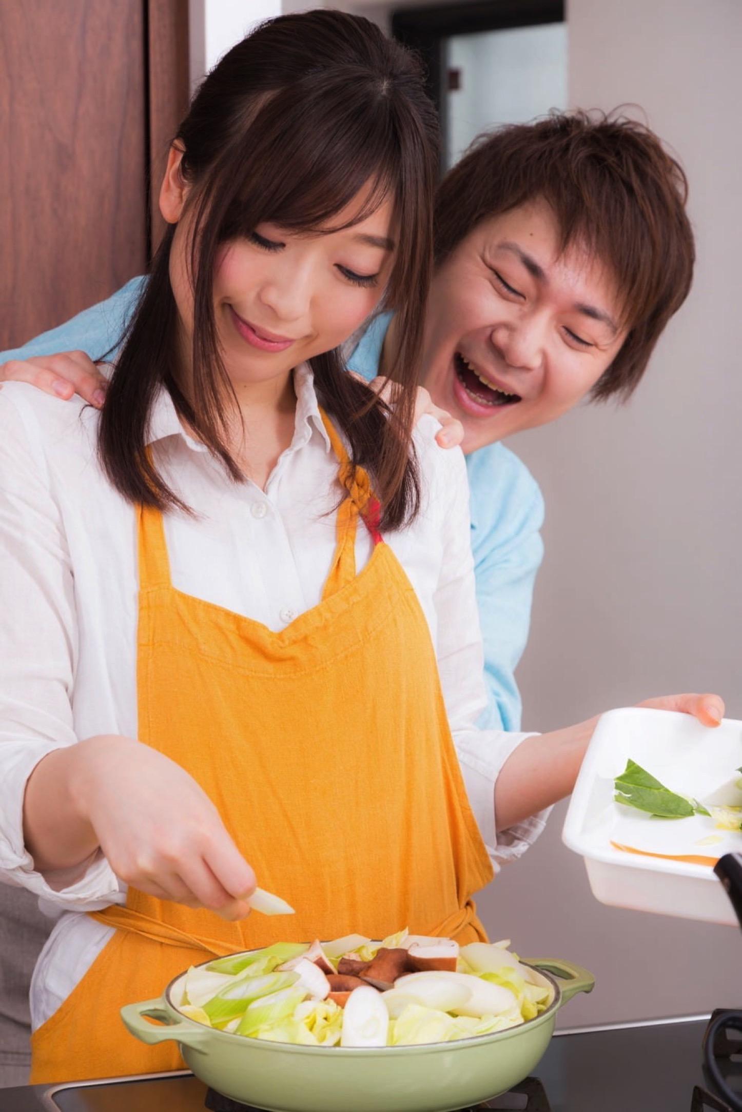 Igarashi Couple Cooking Free Photos