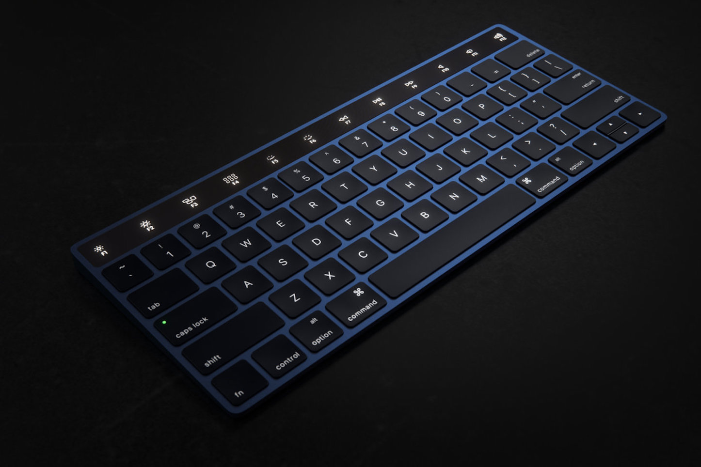Martin Hajek Magic Keyboard with touch bar