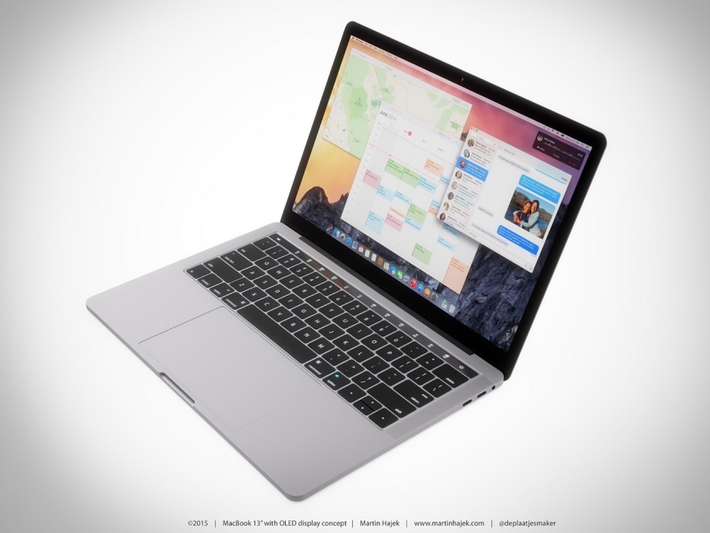 New MacBook Pro Martin Hajek