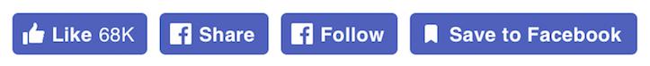 New Social Button Design