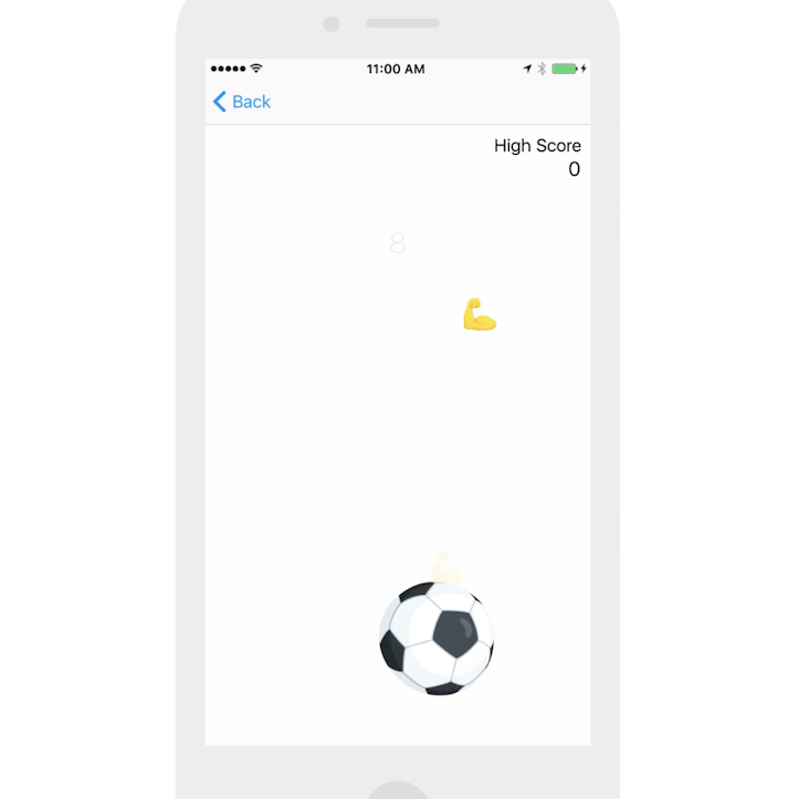 Playing Soccer on FB Messenger