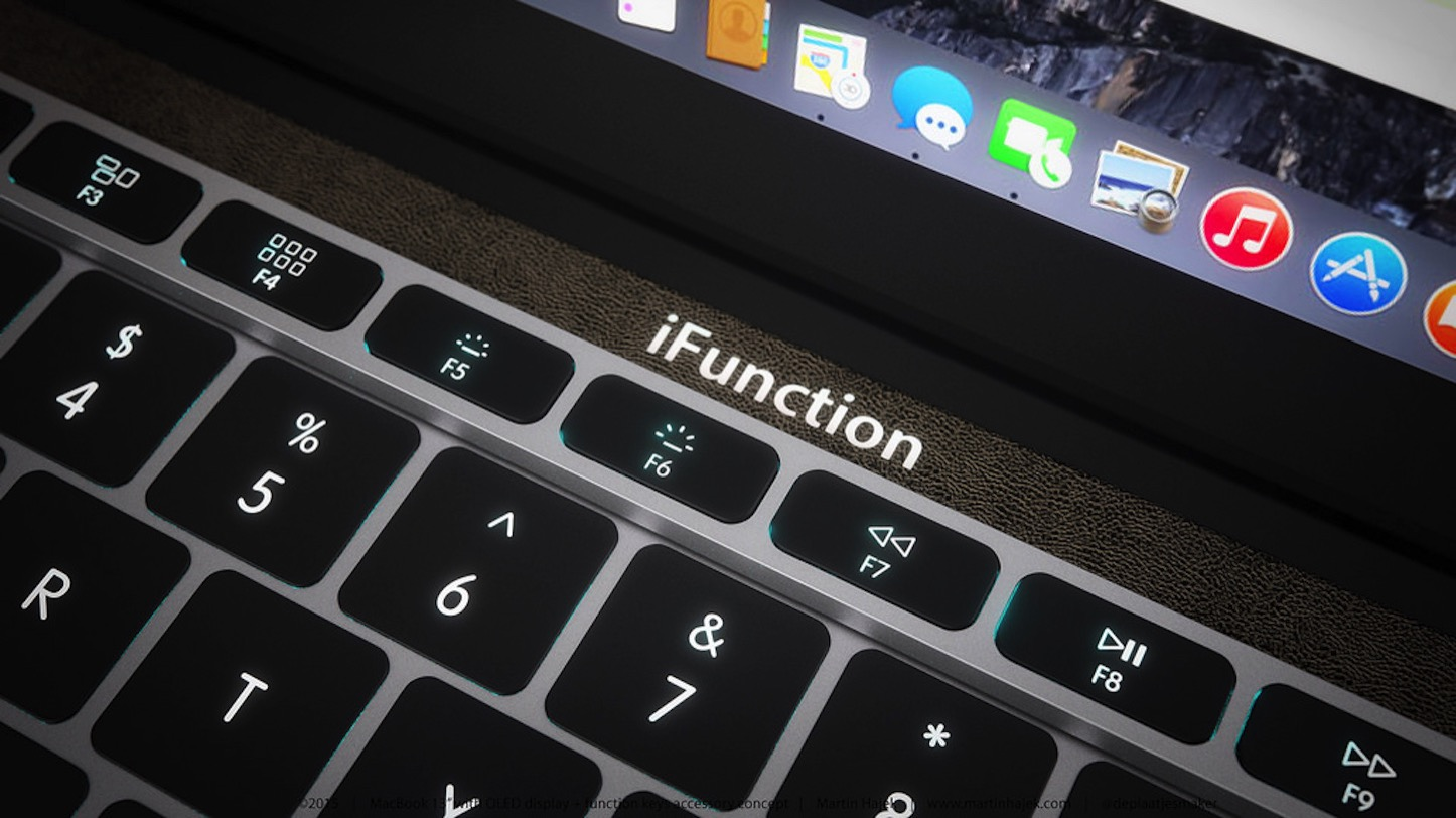IFunction Keys for MacBook Pro 2016