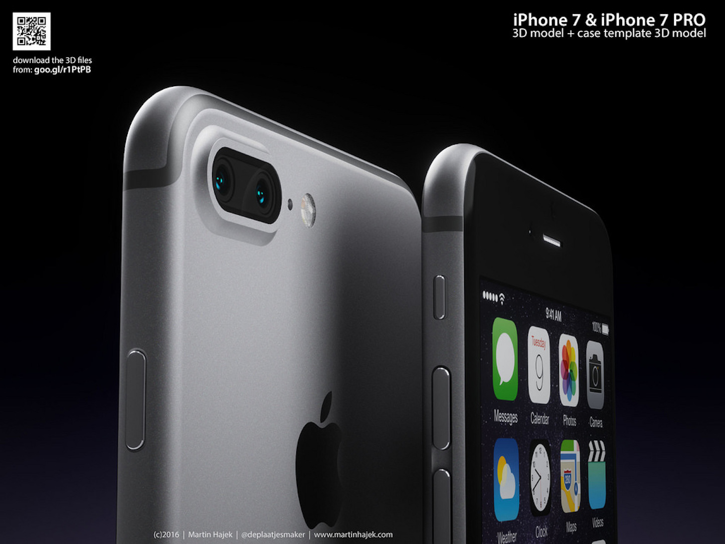 Iphone 7 pro concept image