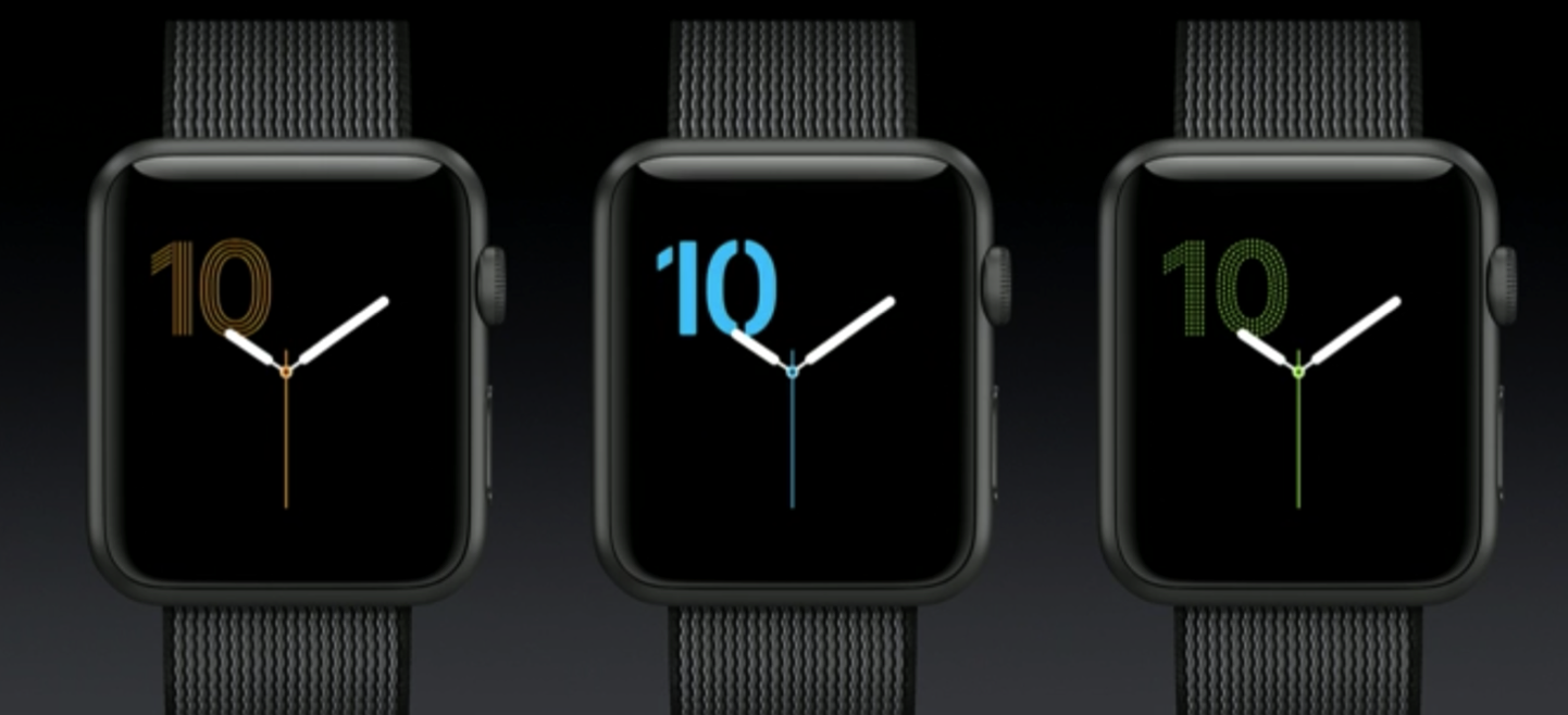 WatchOS 3 Apple WWDC 2016