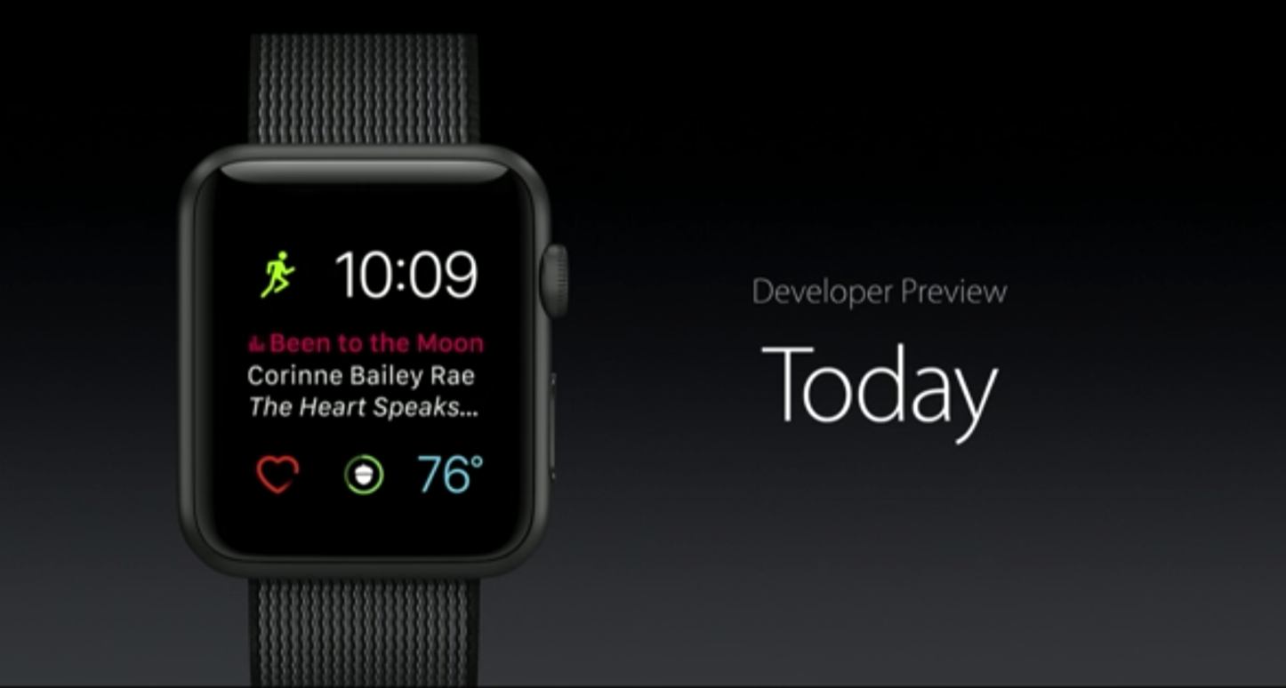WatchOS 3 Apple WWDC 2016 1