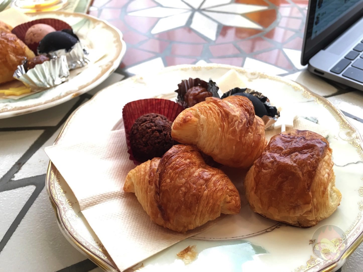 Breakfast at Hanzoya on the day of wedding