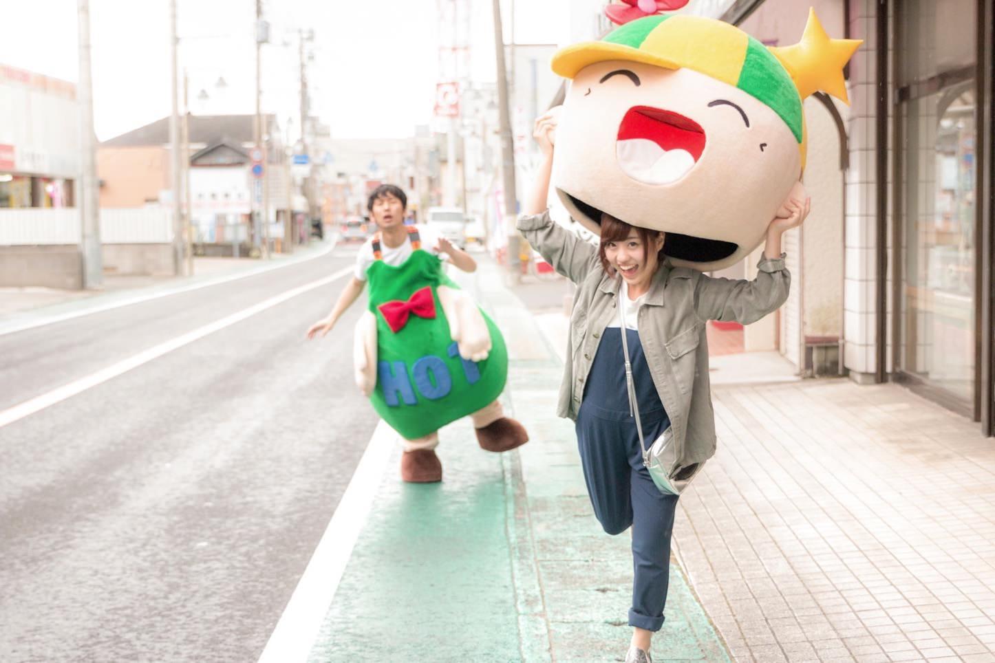 ぱくたそ行政コラボ第2弾ーー大原中央商店街