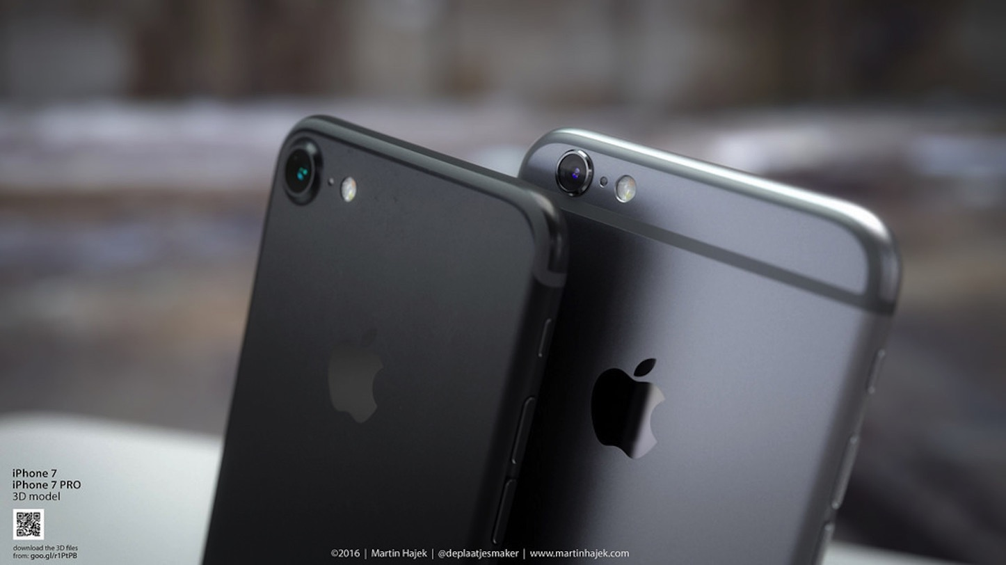 New Black iPhone7 Concept Martin Hajek