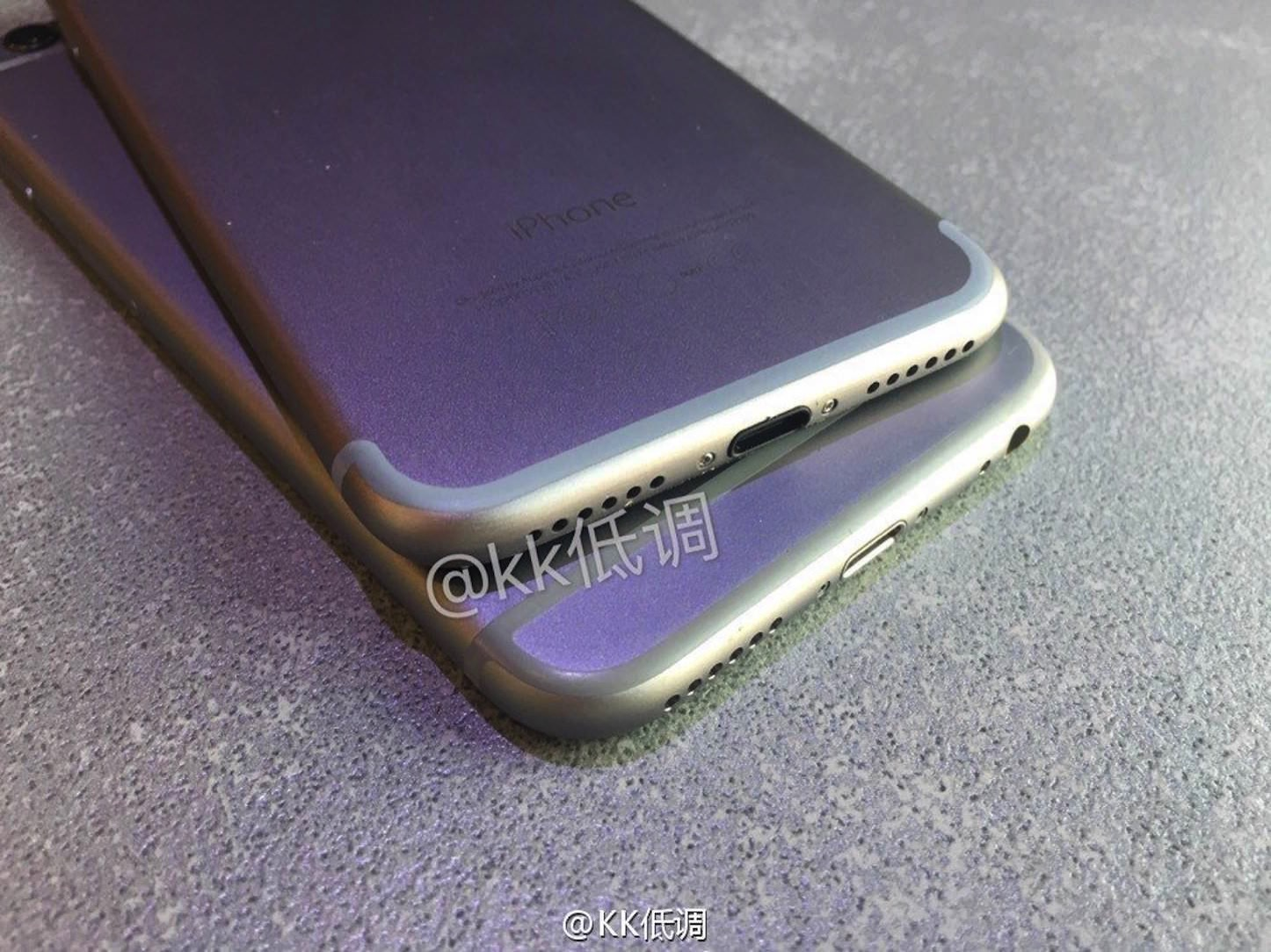 New Photos of iPhone7 and iPhone6s