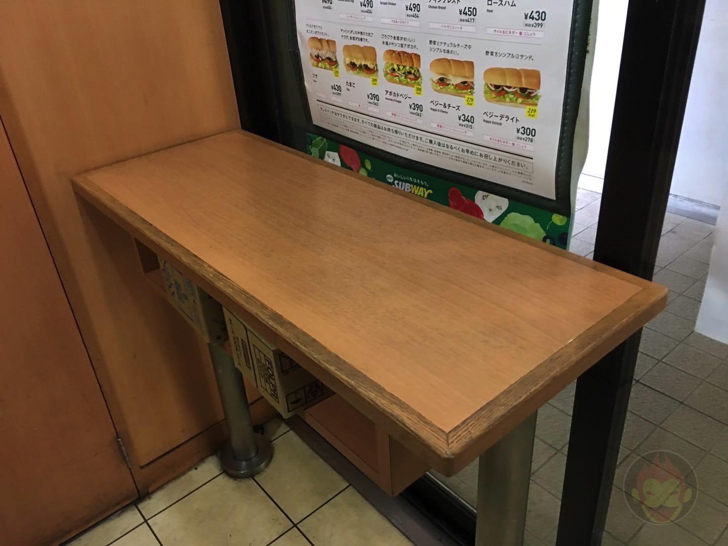 サブウェイ ゆりかもめ汐留駅店