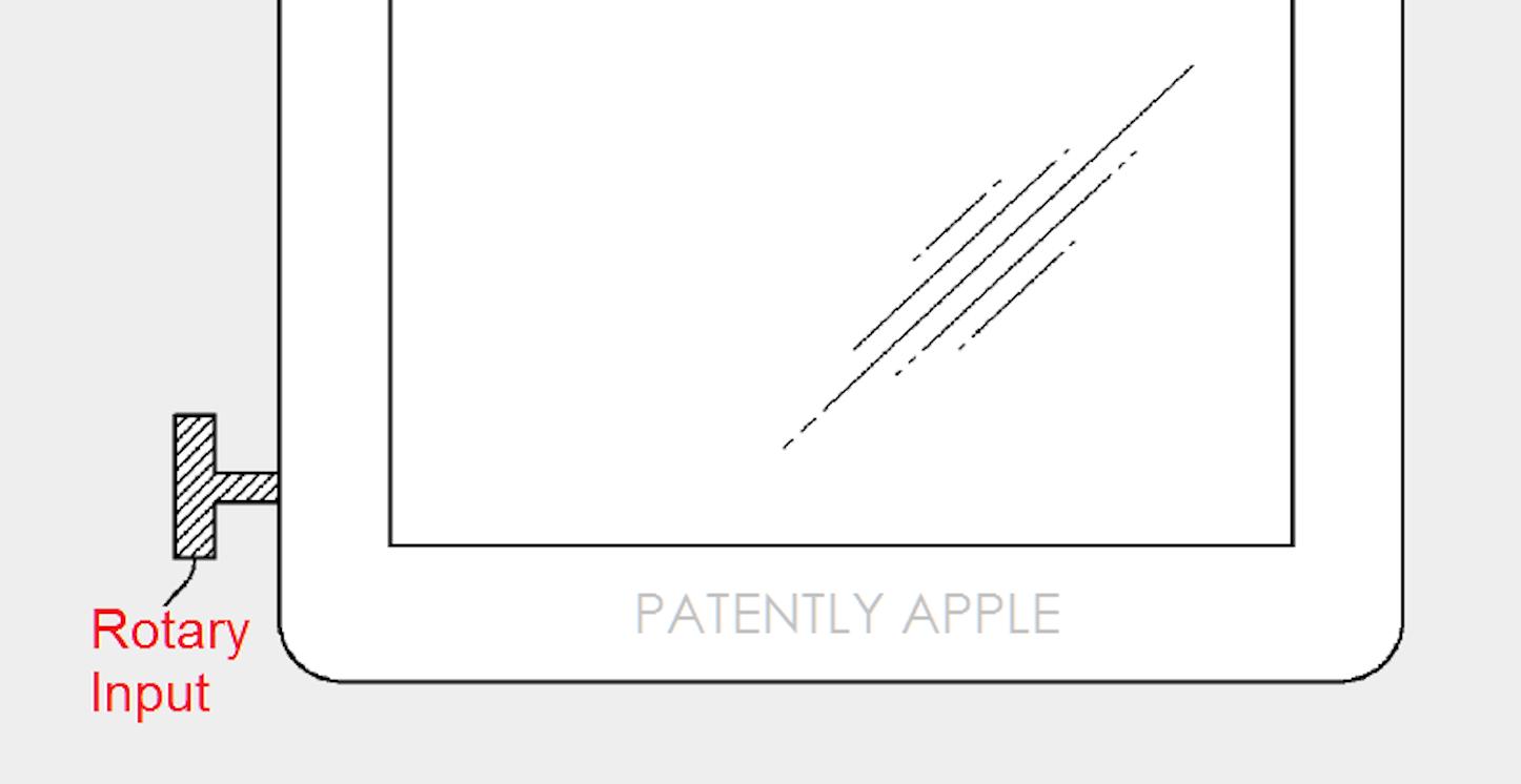 Digital crown iphone patent