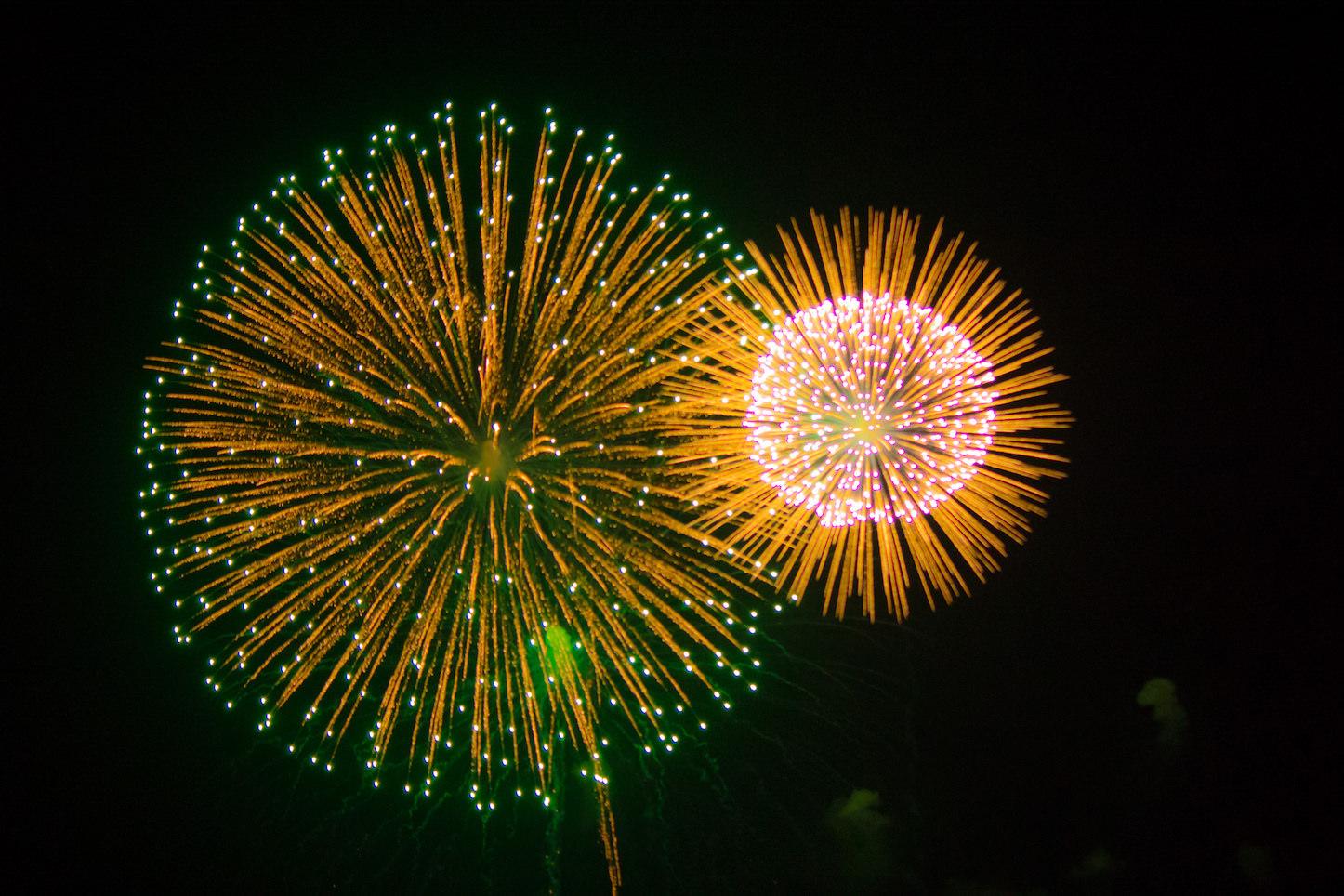 Fireworks in kanagawa