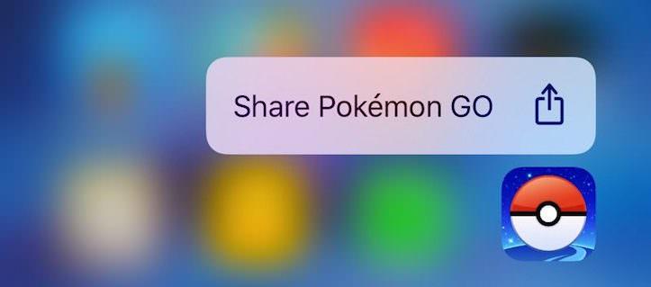 iOS 10 beta 3 quick actionsshare