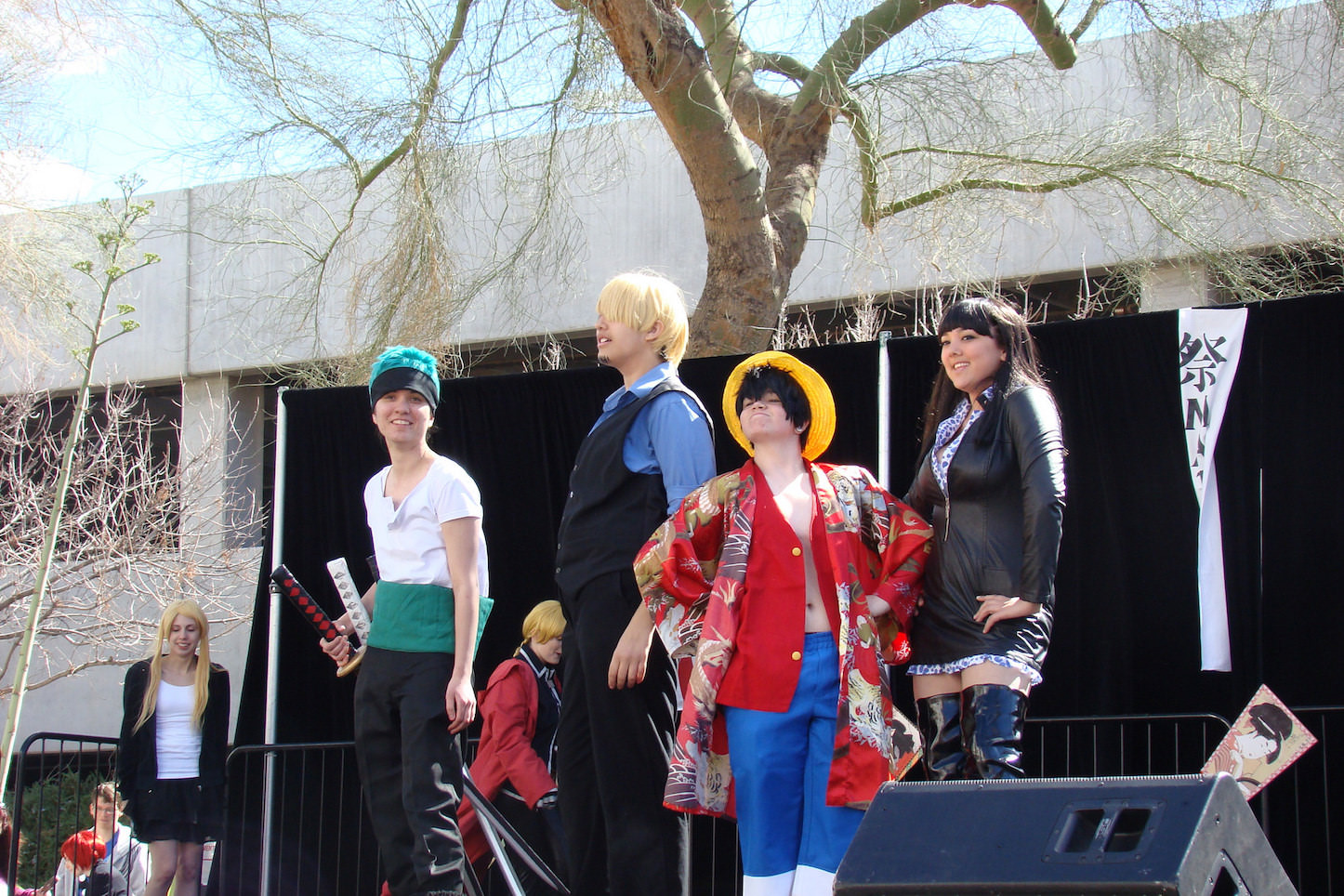 One piece in real life