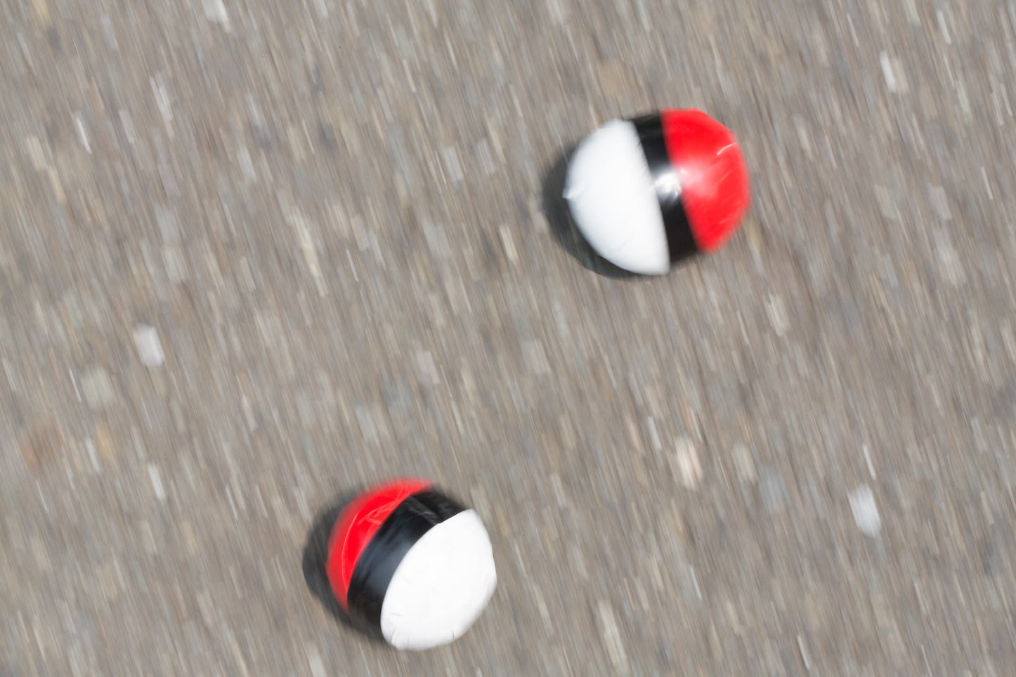 Pokeball on the street
