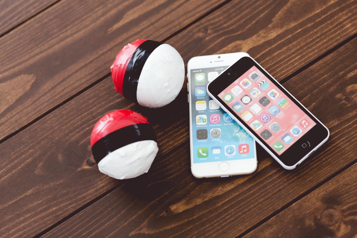 Pokemon go pakutaso balls