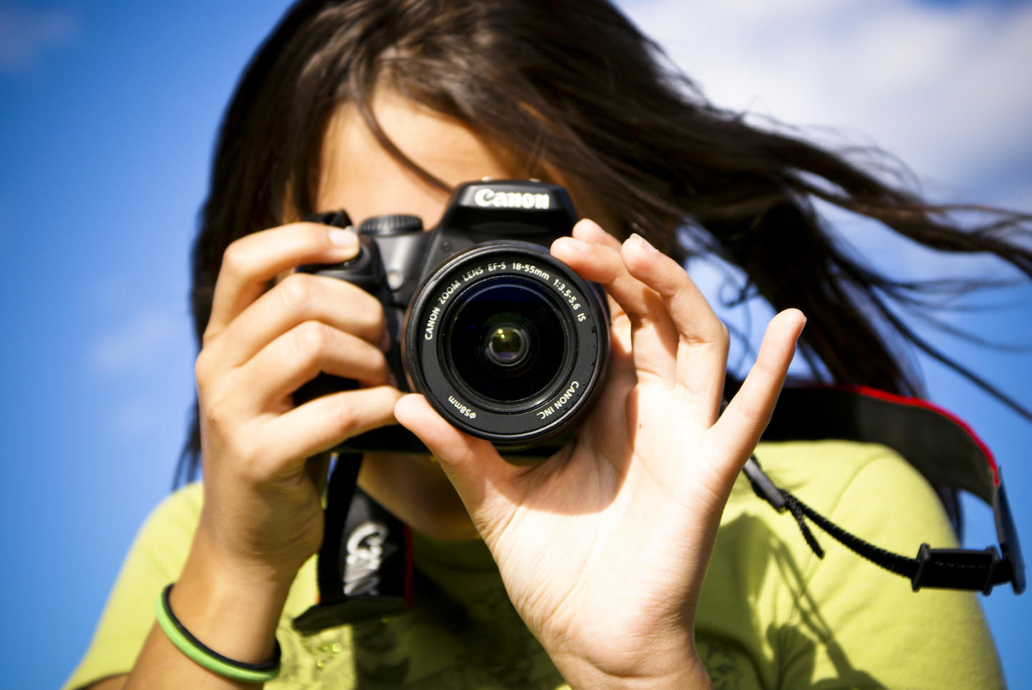 Taking beautiful photos