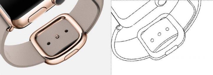 Samsung Patent of Apple Watch