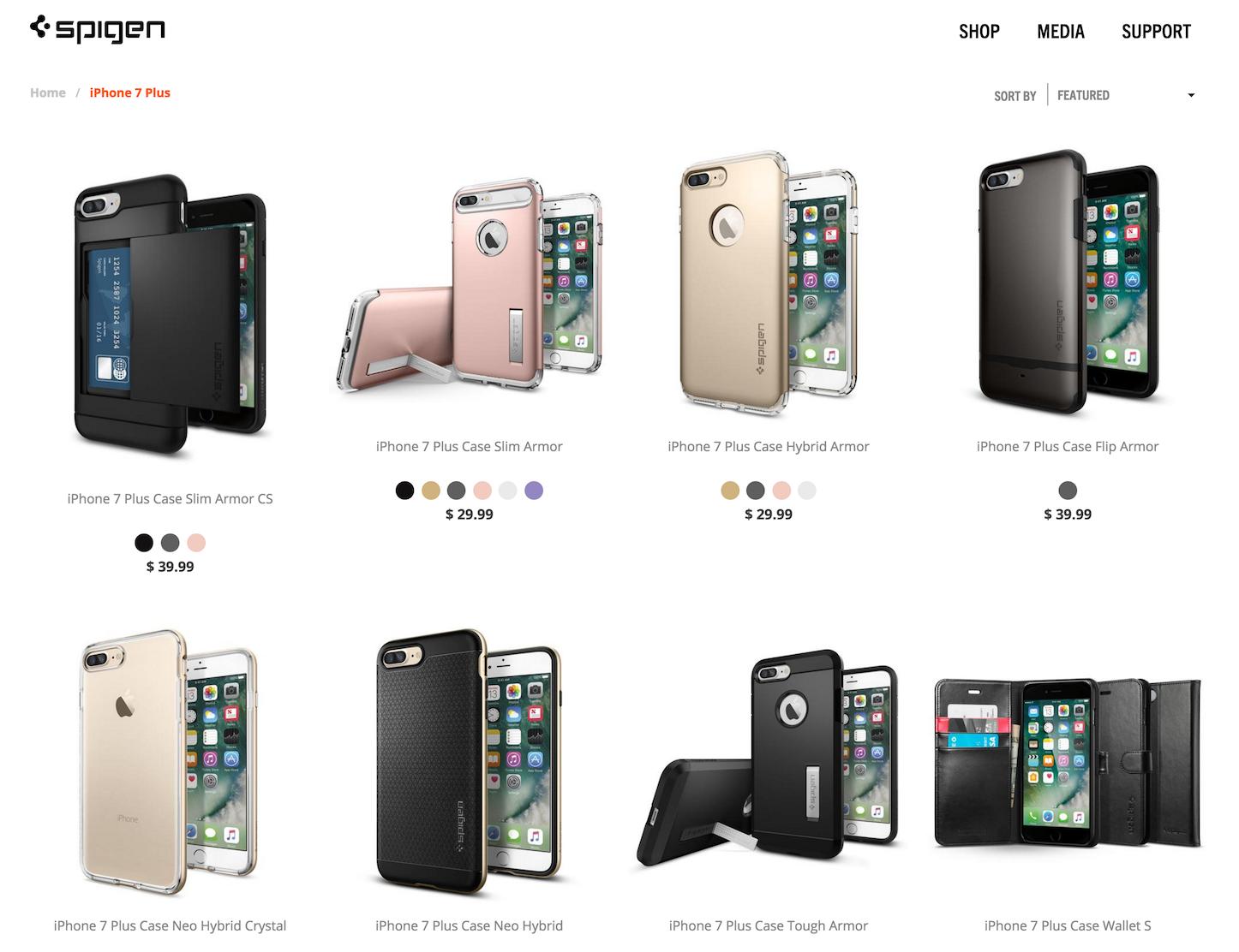 Spigen iphone 7 cases