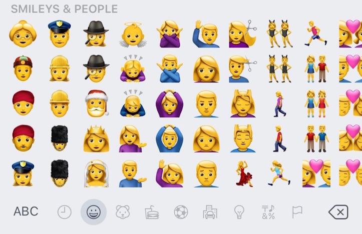 Ios10 beta 4 emoji