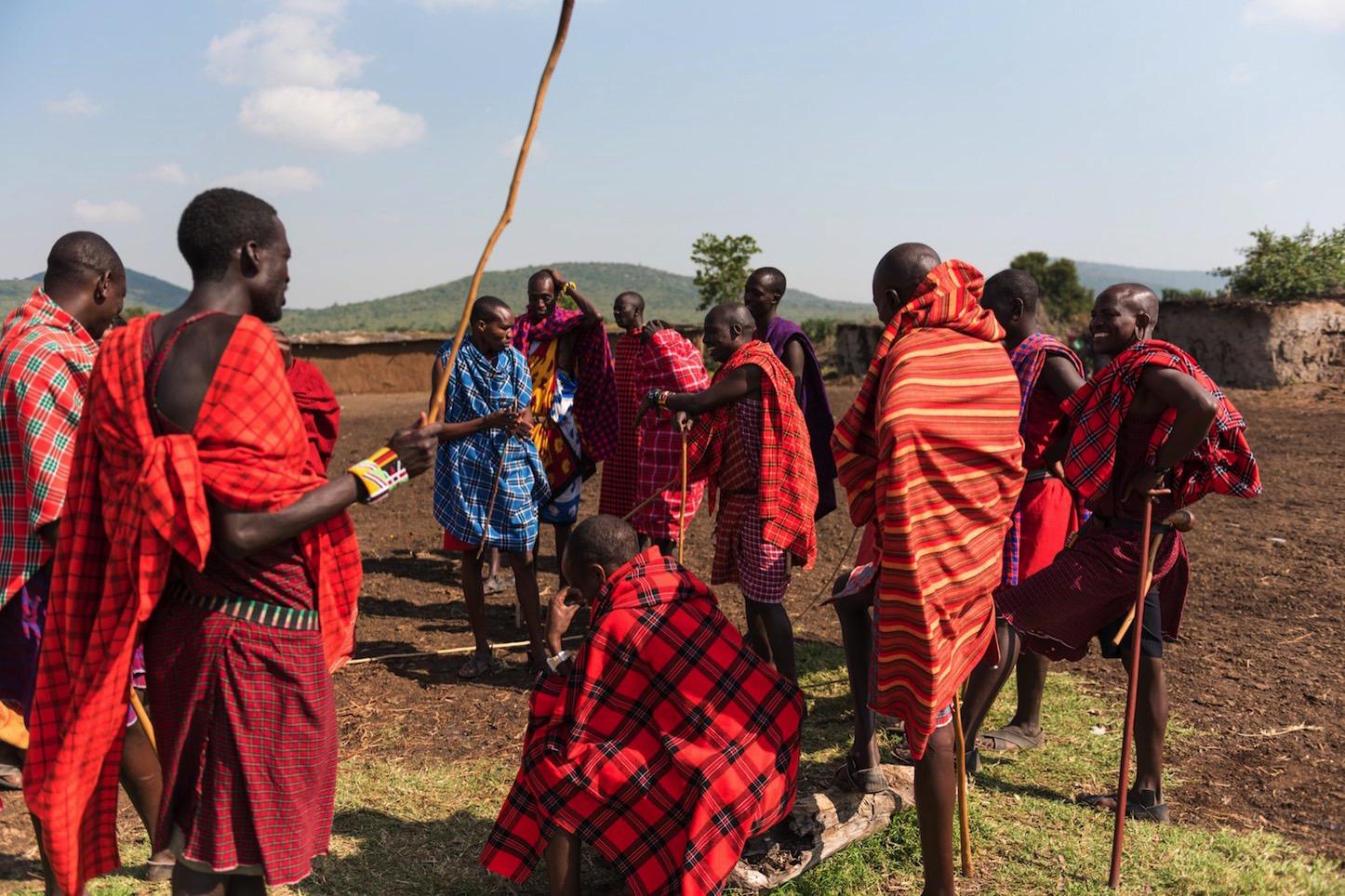 マサイ族のフリー素材が公開