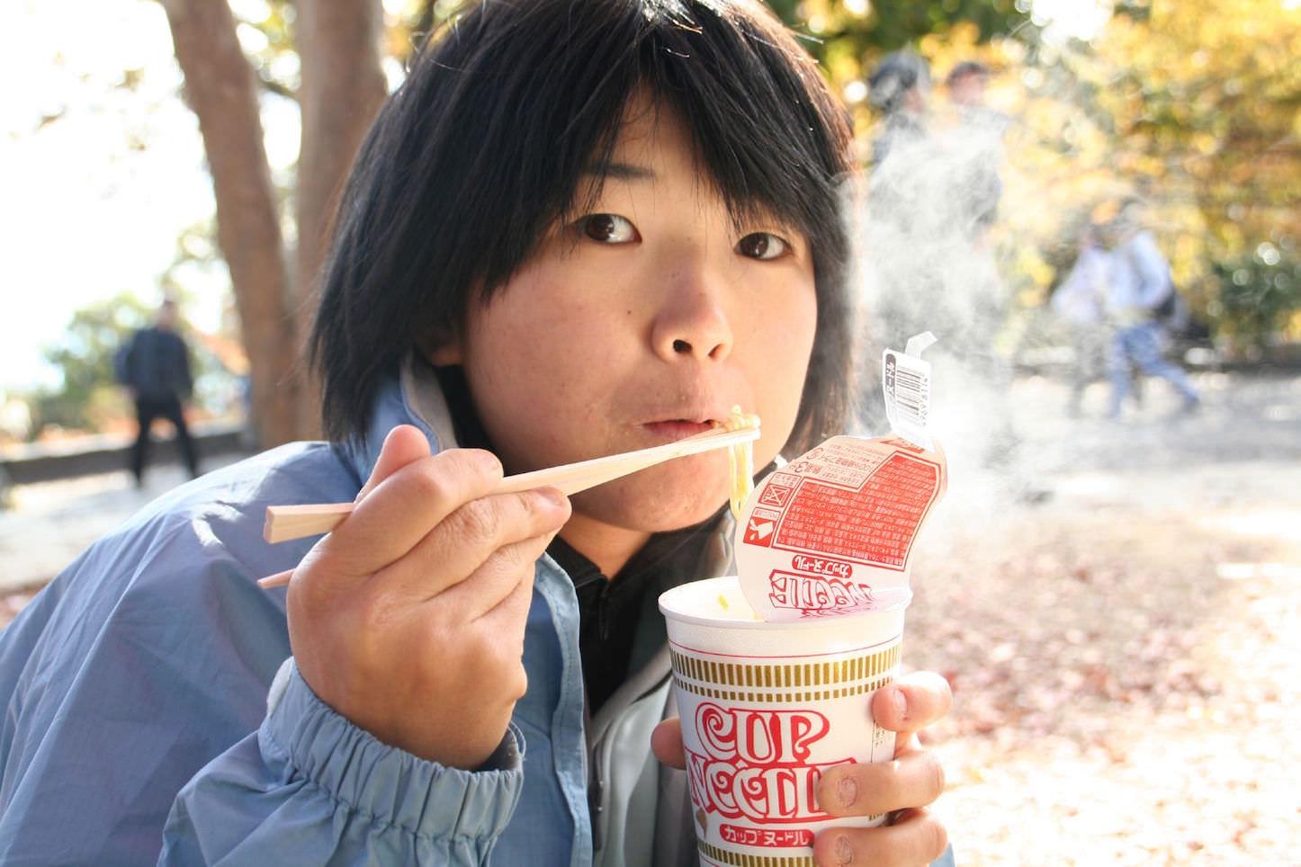 Nishin cup noodle