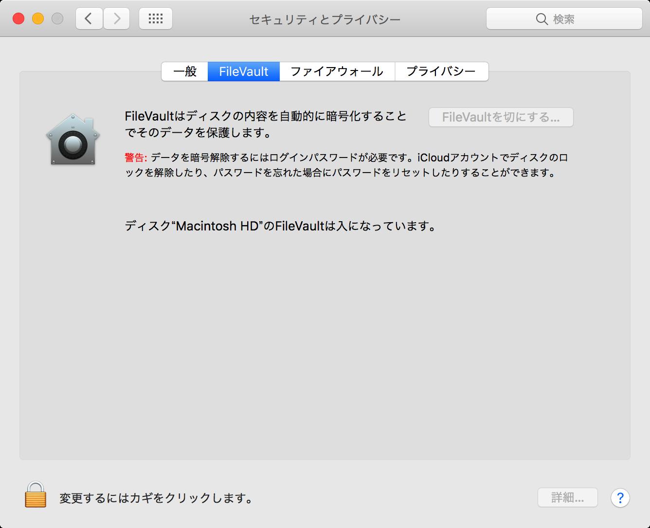 FileVault Security