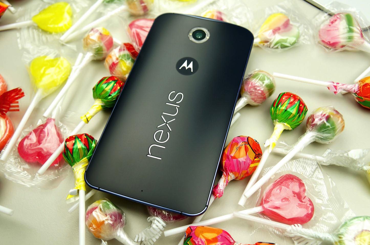 Nexus Smartphone Lollipops