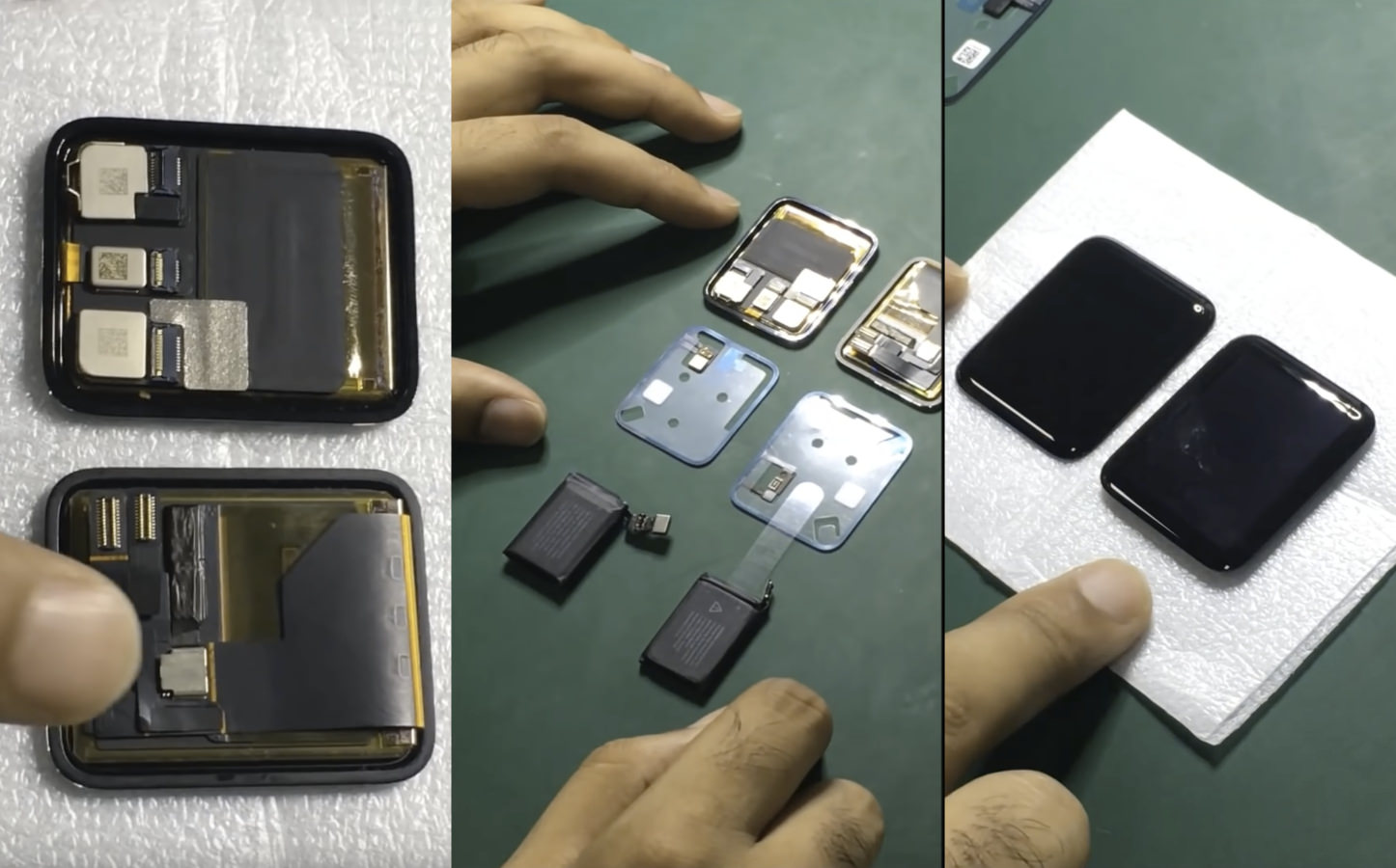 Apple watch 2 battery and components