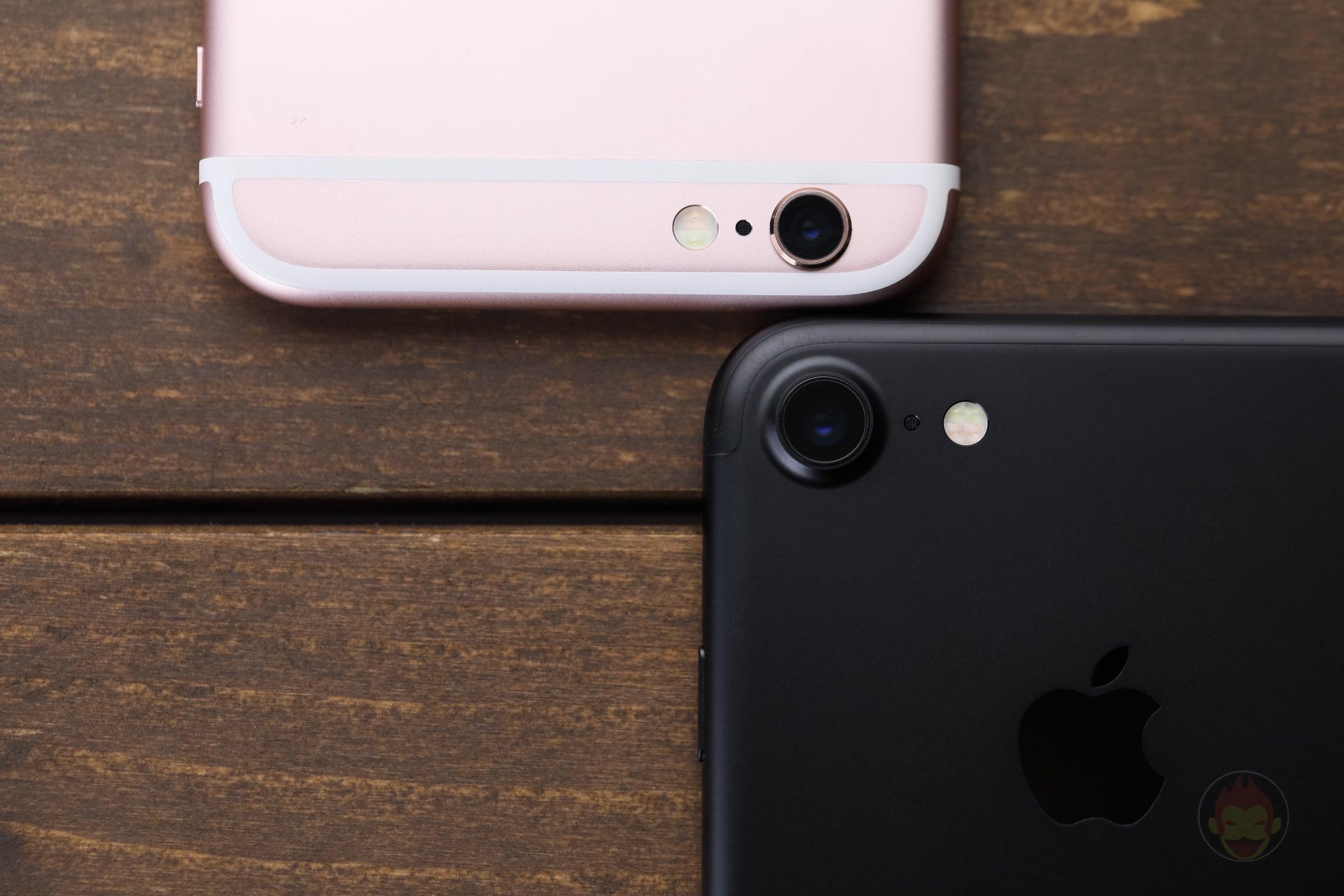 IPhone7 iPhone6s Comparison