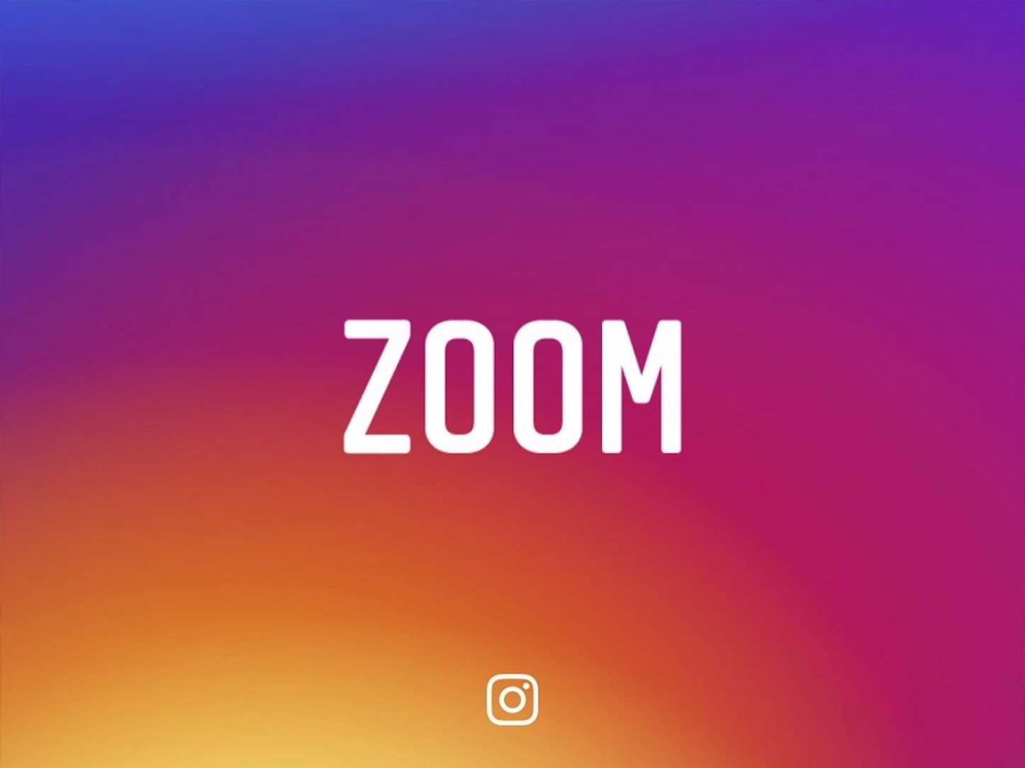 Instagram zoom is now capable