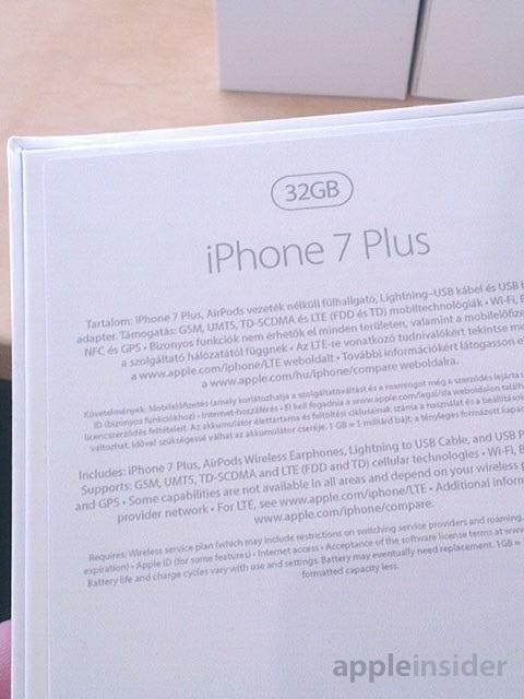 Iphone 7 32gb model